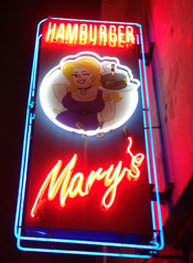 Hamburger Mary's Sign