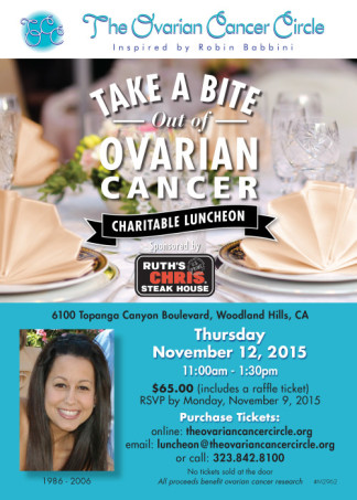 Take a Bite Out of Ovarian Cancer Charitable Luncheon